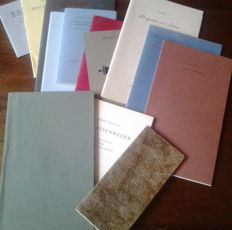 Margin print work; Lot with 13 bibliophile publications in numbered editions - 1977/2013