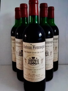 1978 Chateau Fonroque, Saint-Emilion Grand Cru Classé - 6 bottles.