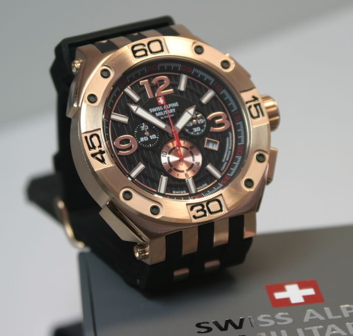 Swiss Alpine Military - Chronograph - 7032.9867SAM - Heren - 2011-heden