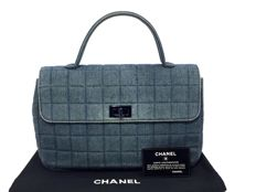Chanel - Chocolat Denim  Handtas