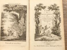 Children's books;  Lot of 2 early 19th century French children's books - 2 volumes - ca. 1811/1829