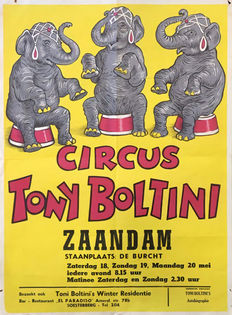 45 European circus posters - 1960s and 70s