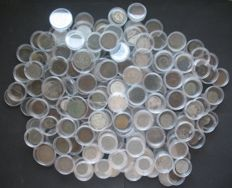 World - Lot of world coins (216 pcs) - including silver