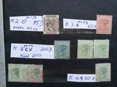 Sierra Leone, Trinidad, British Guiana 1850/1970 - a collection of almost 450 stamps