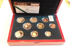 Luxembourg –year set 2004 with 2 Euro Grand Duke Heinrich and Grand Duke Adolph