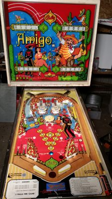 Bally amigo 1973 4 player