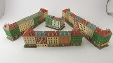 Vollmer/Faller/Kibri N - Scenery - 20-piece set with large city houses and mansions
