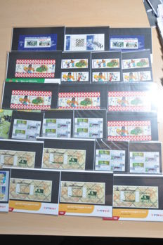 The Netherlands - Batch of stamp booklets in albums and a full shoe box