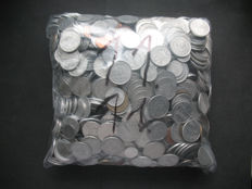 World - Lot various coins (± 2000 pieces) incl. some silver