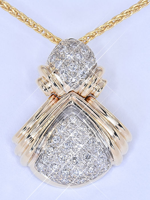 Diamond Designer Necklace No Reserve Price Catawiki