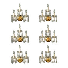 Unknown designer - Wall sconce with three arms
