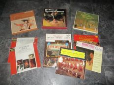 Opera, Operetta and Musical ; Big Lot Of Records With The Greatest  Highlight Of These Genres