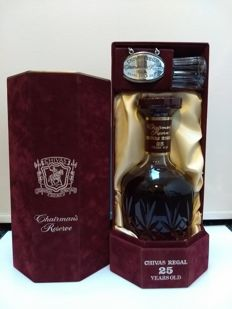 Chivas Regal - Chairman's Reserve - 25-year-old