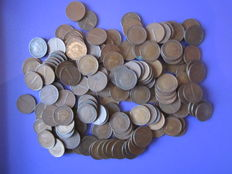 World - lot of world coins (7.64 kg)