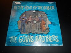 "Lot of four rare bluegrass folk albums by The Goins Brothers - Including ""In The Head of The Holler"" Private press and three records with relative kind of music"
