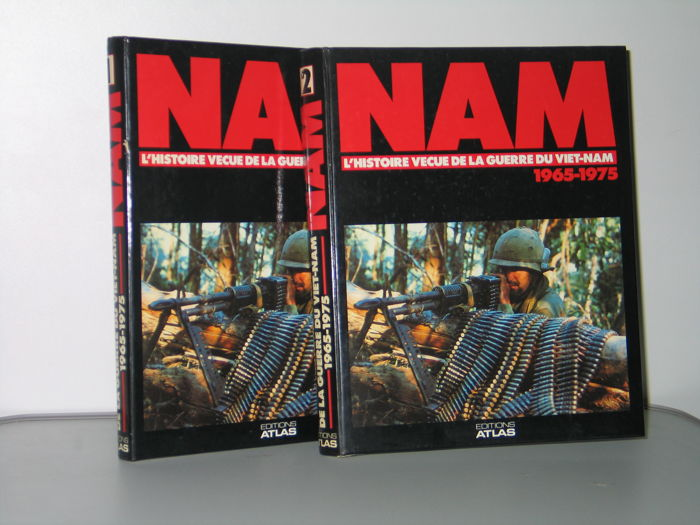 2 Volumes of the magazine  NAM. war of Viet nam  1965 / 1975