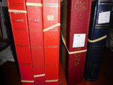 Russian Empire and Soviet Union 1857/1991 - Collection in 3 Schaubeck albums and stock books