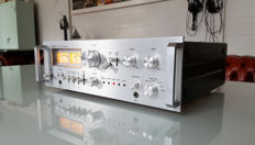 Lenco A-50 Amplifier Vintage with retro VU-meters