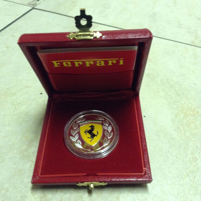 Ferrari silver coin - 2003 World Champion