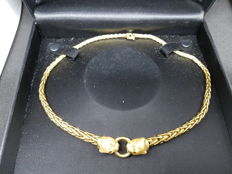 Women's necklace in 18 kt gold - 45 cm - 20 grams