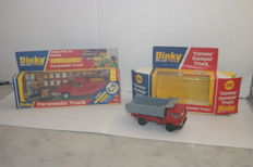 Dinky Toys - Scale 1/48 - USA Dodge Emergency Paramedic Truck no.267 - 'Convoy' Rescue Dumper Truck no.382
