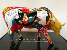 Cow Parade CowParade Homage to Picowso's African Period Large
