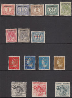 The Netherlands 1913/1940 - Various issues Official stamps and Airmail