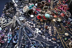 Large collection of decorative jewellery - over 230 pieces