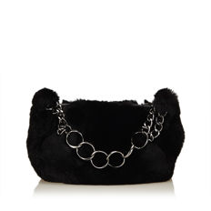 Chanel - Fur Chain Handbag