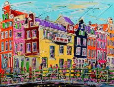 Mathias - Street of Amsterdam, bridge morning