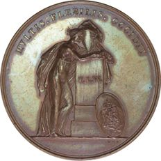 Netherlands - Commemorative medal, Death of Frederika Louisa Wilhelmina 1837 (by van der Kellen)