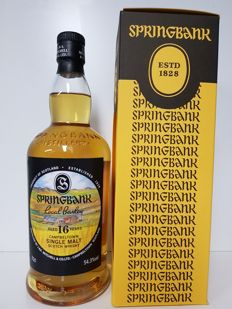 Springbank 16 Years Local Barley Limited Release