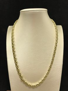 Chimento - Choker in 18 kt white and yellow gold - Weight: 23.26 g - Length: 45 cm
