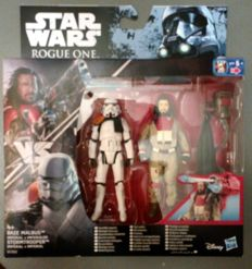 5 pack of two action figure star wars,