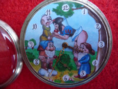 Alpina – Erotic pocket watch with image of an orgy.