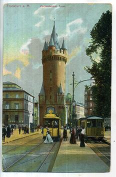 Germany  period:1900-1935 city and village views; 90 x