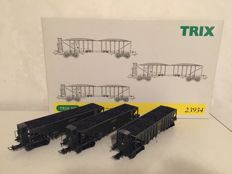 Trix H0 - 23934 - Wagon set Coal transport