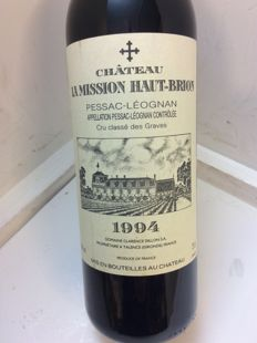 1994 Chateau La Mission Haut Brion, Pessac-Léognan, Graves Grand Cru Classé - 1 bottle