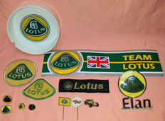 Collectie original Lotus items - 1965 to 1980