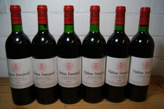 1988 Chateau Bourgneuf Pomerol - 6 bottles