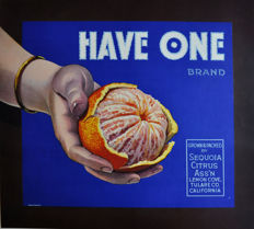 Anonymous - Have one! USA Oranges + Lemons -  ca. 1937