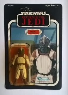 Vintage Star Wars - Klaatu in Skiff Guard Outfit - MOC - Unpunced