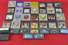 30 Nintendo Game Boy, color and Advance games eg Pokemon, Asterix, Tetirs and more