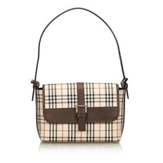 Burberry - Plaid Jacquard Handbag