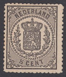 The Netherlands 1869 - National coat of arms - Proof PC 78