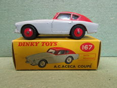 Dinky Toys - Scale 1/43- A.C. Aceca Coupe No 167