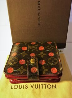 "Louis Vuitton – Limited edition wallet ""TAKAMI MURAKAMI'S CHERRY"") from 2005"