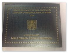 Vatican - 2 euro 2006 '500 Years of the Swiss Guard'
