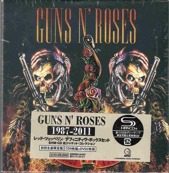 Guns N' Roses ‎– 1987-2011  9 CD, Album, Unofficial Release, Mini-LP 2 × DVD, Unofficial Release Box Set, Compilation