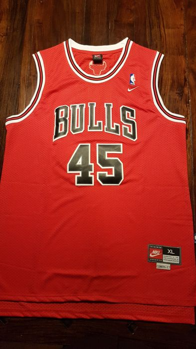los angeles 3a787 8c465 Chicago Bulls Jersey Michael Jordan #45 Comeback - Catawiki